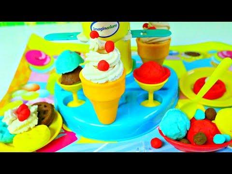 Plastilina Helados y Postres Playdouhg Ice cream Treats|Mundo de Juguetes