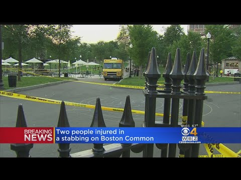 2 People Stabbed On Boston Common