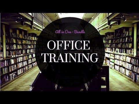 OFFICE TRAINING BUNDLE (Excel + PowerPoint + Word + Excel Macro + Excel Dashboard)
