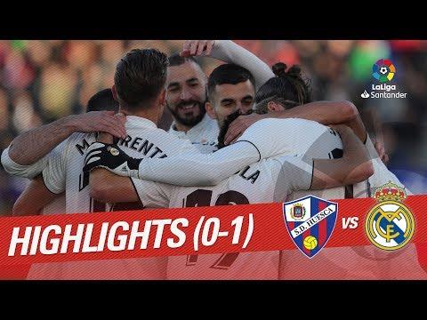 Highlights  SD Huesca Vs Real Madrid (0-1)