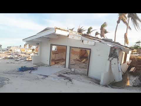 Club orient completely destroyed + orient baie the beach 1 Jan 2018 after hurricane Irma St Martin