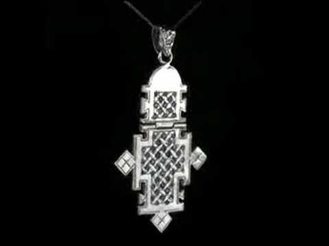 NegusJewelry.com Exquisite Ethiopian Gold Pendant
