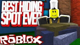 BEST HIDING SPOT IN THE GAME (Roblox Murder Mystery 2)