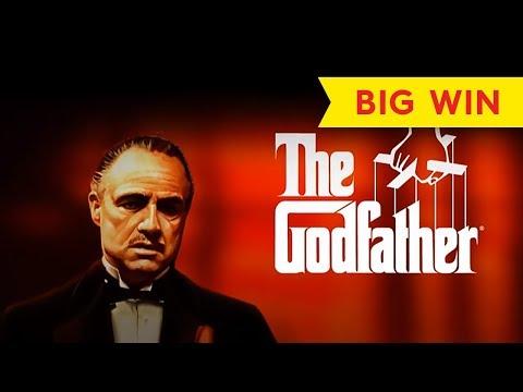 The Godfather Slot Machine - 100x *BIG WIN* Live Play Bonus! - 동영상