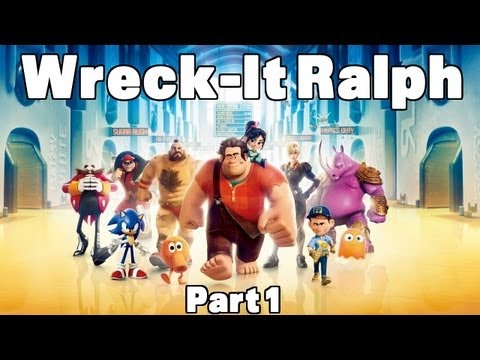 Wreck-It Ralph Part 1 (English) - Subtitled + HD