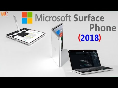 MicroSoft Surface Phone Concept 2018 - Windows 10 - ARM processor Foldable Mobile Phone Trailer