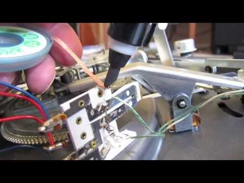 hqdefault dual 1019 tonearm wire replacement youtube rega tonearm wiring diagram at readyjetset.co