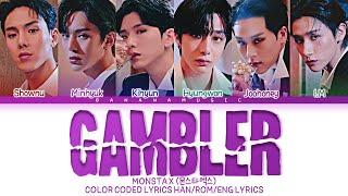 Download Mp3 MONSTA X GAMBLER Lyrics