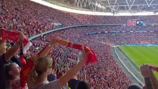 Liverpool VS Barcelona (Team Arrival And YNWA) - Smilar