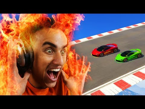 HOUSE BURNT DOWN WHILE RACING!? (GTA 5...