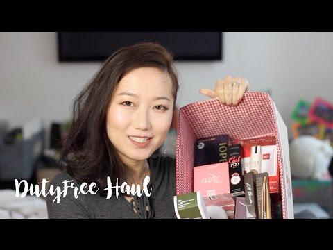 乐天日上免税店购物分享 Jeju & Shanghai Duty free shop haul