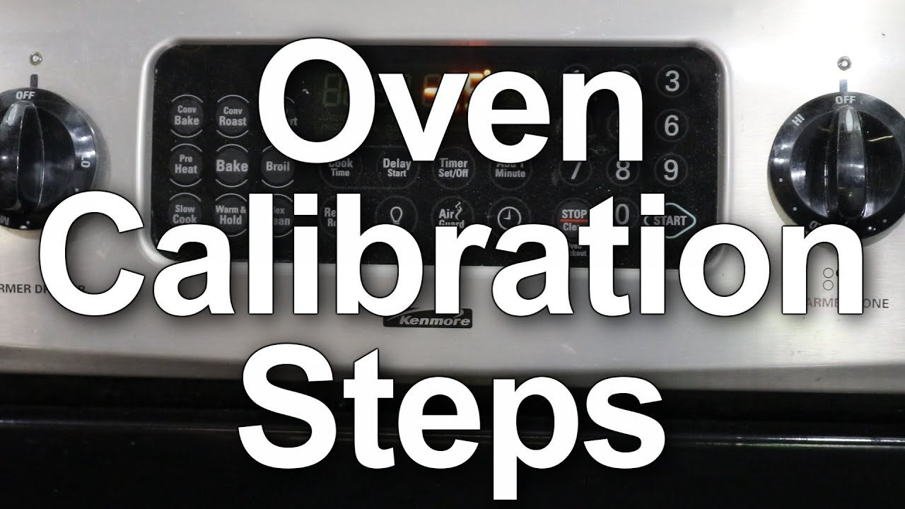 How To Calibrate Your Oven Temperature Youtube Circuit Board Timer 33002561 Repaircliniccom Premium