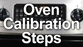 How to Calibrate your Oven Temperature