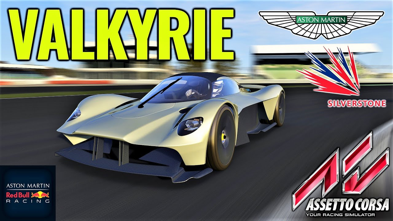 Aston Martin Valkyrie Hotlaps Lap At Silverstone Assetto Corsa Mod Download Racedepartment