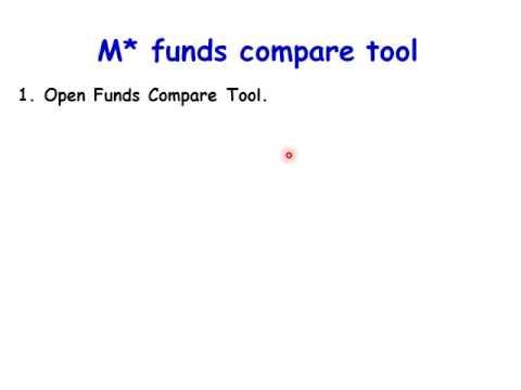 Fund Portfolio - Selecting Funds