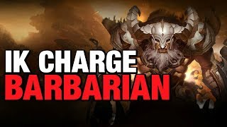 Скачать IK Charge Barbarian Speed Build Diablo 3 Patch 2 6 4 Season 16 Guide
