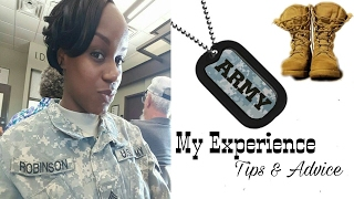 ARMY Q&A | MY EXPERIENCE, TIPS & ADVICE