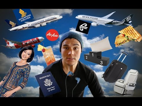 AIRLINE REVIEW (Singapore Airlines, Air Asia, Air New Zealand)