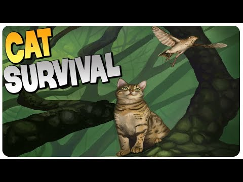 BECOME A CAT - Open World Survival Colony Game! | Cattails Gameplay