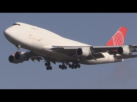 ᴴᴰ ✈ Air Cargo Global B747-400F @ Hamburg