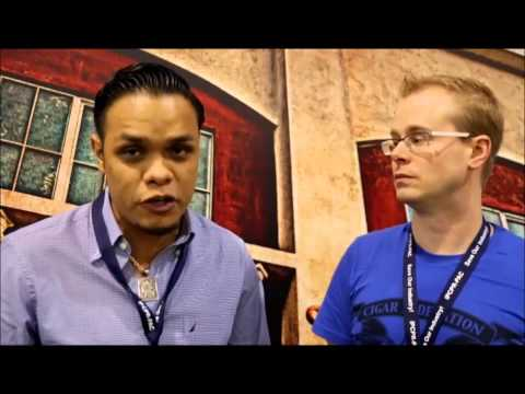 Inteview with Pedro Gomez from Drew Estate at IPCPR 2014
