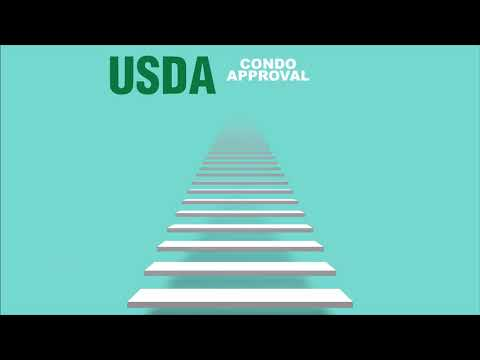 How does a condo get USDA approved?