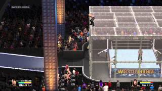 WWE 2K15 Tutorial: How to do the Hell in a Cell Crowd Glitch