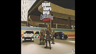 Gta San Andreas Modificado Policial V2 PMSC - PC Fraco e Pc Médio Download PC