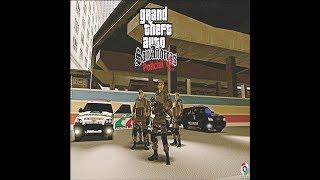 Gta San Andreas Modificado Policial V2 PMSC - PC Fraco e Pc Médio Download PC