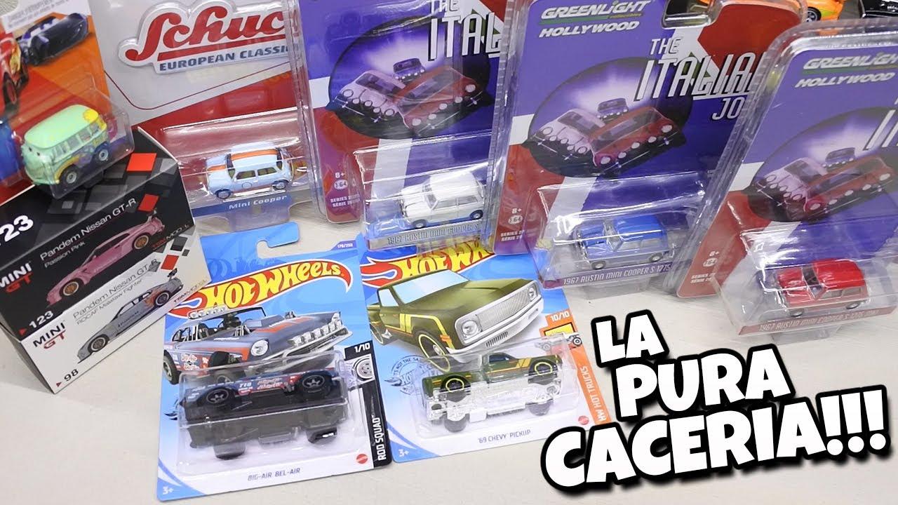 Liberando pura cosa chula Hot Wheels, Mini GT, Greenlight, Schuco y Mini Racers Cars
