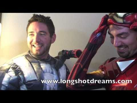 War Machine Tries To Kill Iron Man Blooper from Iron Man Wants You To Buy His Movie!