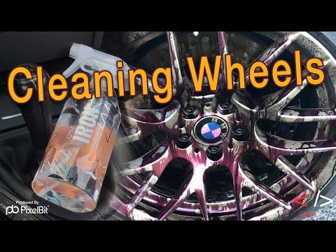 Washing The BMW M3 Wheels with GYEON Q2M