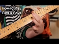 watch he video of 'Girls & Boys' Prince Guitar Lesson