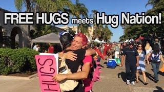 FREE HUGS meets Hug Nation