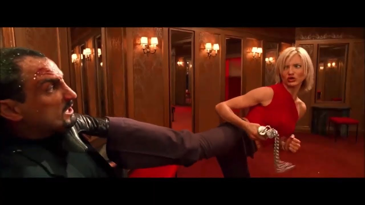 Download Charlie's Angels 2000, in Hindi : Attack on Angeles Scenes (05)