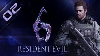 RESIDENT EVIL 6 PC - Chris 02 Gameplay Español - Max 1080p - 21