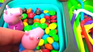 Мультфильм игрушками Свинка Пеппа Свинка Pig Веселый день