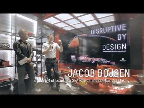 d6fa794fb6 Official Video  Oakley Scuderia Ferrari Collection Singapore Launch ...