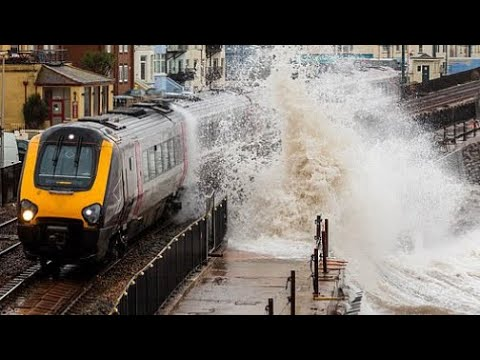 Storm Dennis 2nd-strongest Cyclone On Record In North Atlantic, Major Flooding In U.K.