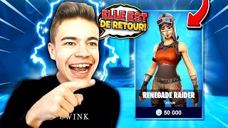 "The SKIN ""RENEGADE RAIDER"" in the BOUTIQUE on FORTNITE? 🤨"
