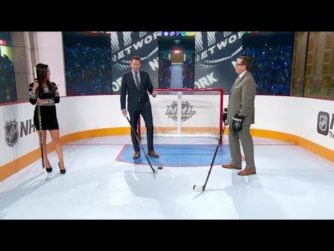 NHL Now: 2 - On - 1 Demo:  Crew Performs 2 - On - 1 Demo From Defenseman Perspective   Mar 13,  2019