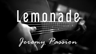 Lemonade - Jeremy Passion ( Acoustic Karaoke )