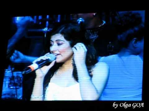Jonita Gandhi - Sonu Nigam's Concert - Moscow, Russia - 10 August 2013