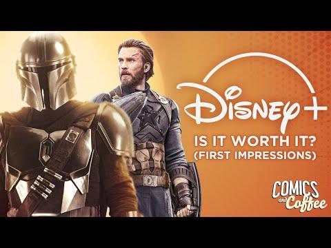 Is Disney+ Worth It? (First Impressions) - Comics & Coffee