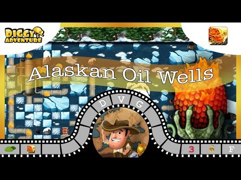 [~Dragon of Fire~] #F Alaskan Oil Wells - Diggy's Adventure