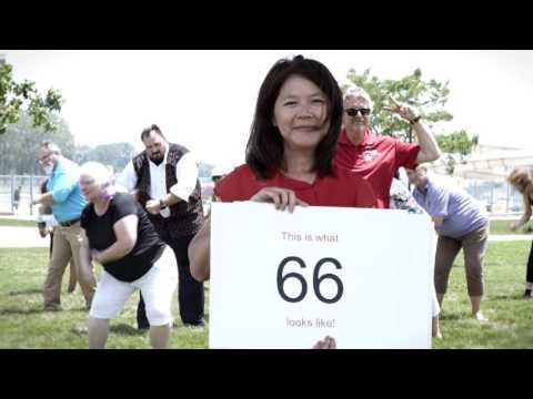 Disrupt Aging  AARP Michigan Flash Mob