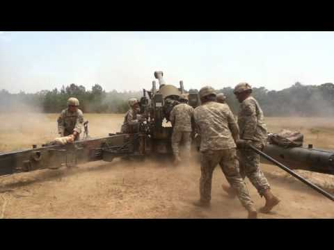 M198 4 rounds downrange in 1 minute