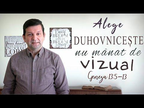 Joi 2 Aprilie 2020 - Marius Birgean - Alege duhovnicește, nu mânat de vizual