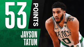Jayson Tatum Drops CAREER-HIGH 53 PTS! 🔥