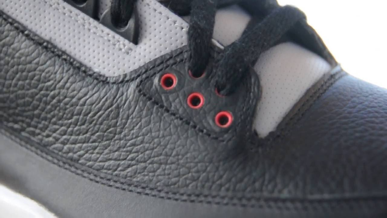 lowest price 18727 8a21b 2008 Air Jordan III (3) Retro CDP ''Black Cement'' (Countdown Pack)